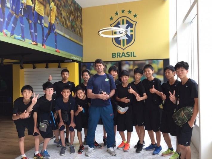 ブラジル代表ミュージアム集合しゃしん
