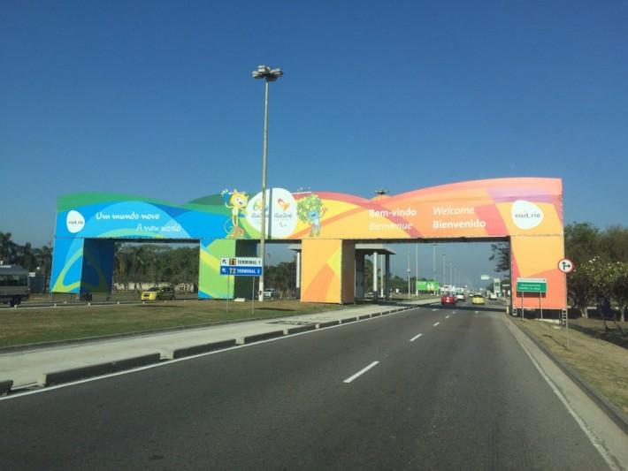リオオリンピックゲート