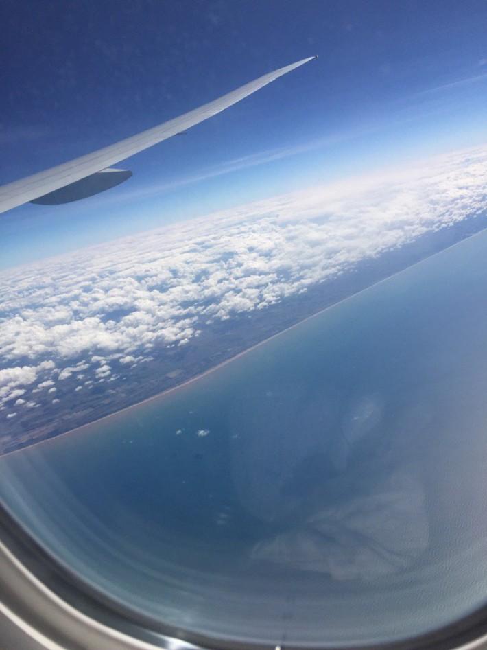 飛行機眺め
