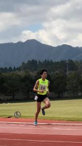 2018 中長記録会1500m健吾