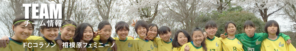 TEAMチーム情報 FCコラソン相模原フェミニーノ