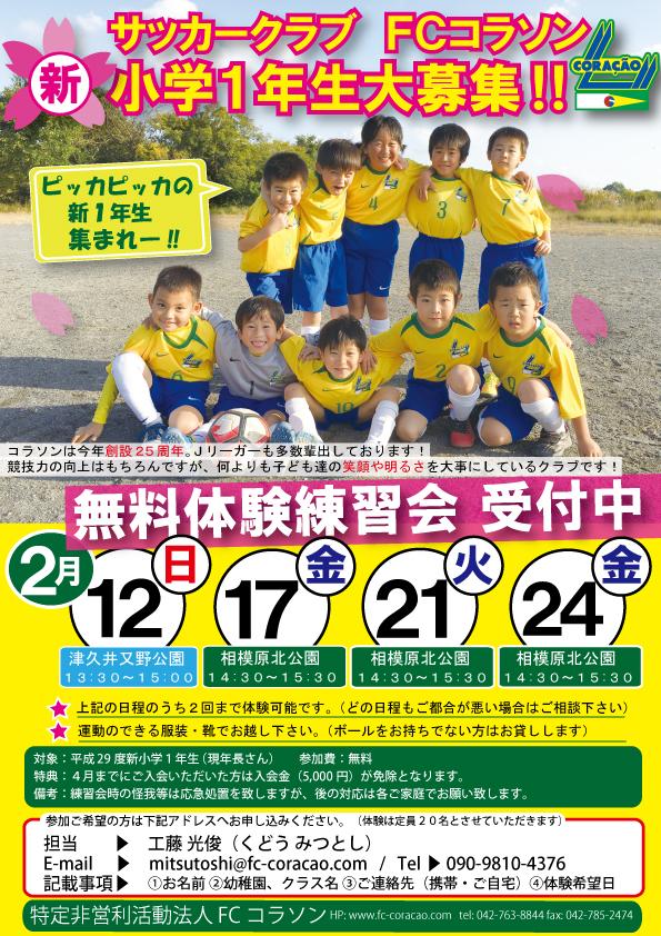 17)新小学1年生募集チラシ